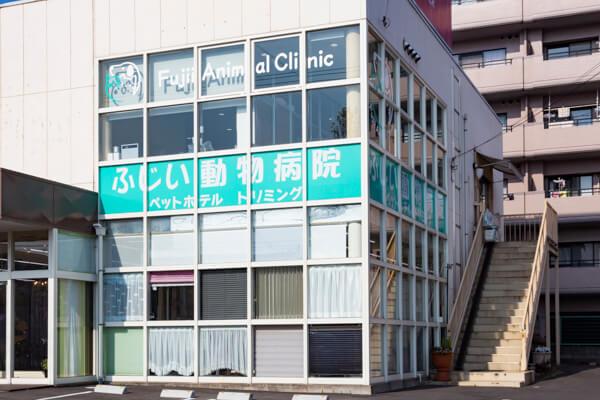 ふじい動物病院(ペットホテル)